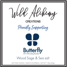 Load image into Gallery viewer, Butterfly Foundation Candle