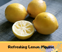 Dessert Wednesday: Refreshing Lemon Mousse.