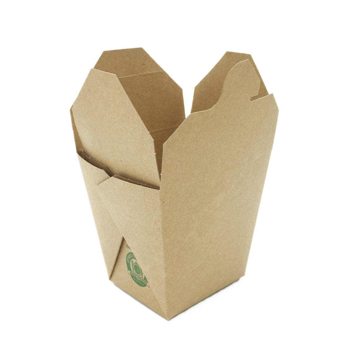 Takeout food recyclable kraft brown container boxes