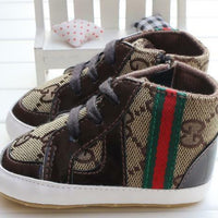 Baby Boy Shoes Sneakers Autumn Solid Unisex Crib Shoes