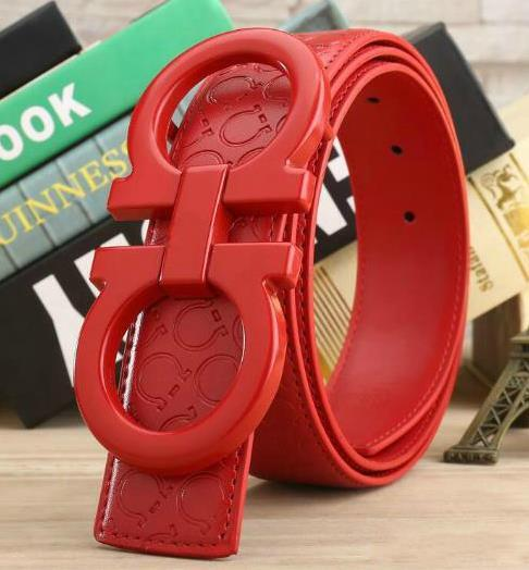 Fashion genuine designer leather belt