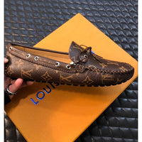 Upscale Hot Real leather Men  luxury fashion Leisure Shoes