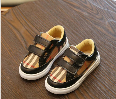 New Designer Children lattice British loafers