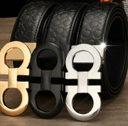 Fashion designer luxury belts