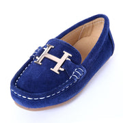 Top quality Luxury casual slip on loafers for kids