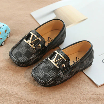 Children Shoes Luxury Leather Shoes