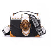 Metal Mini Small Square Pack Shoulder Bag