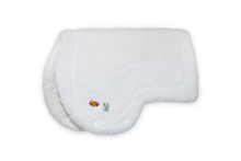 "Load image into Gallery viewer, ""17"" AQHA Pad - White Fleece"