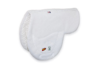 "Hunter Pad ""17"" - White Fleece"