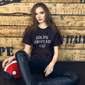 ASK ME Short-Sleeve Unisex T-Shirt