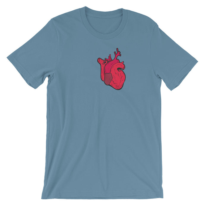 OPEN HEART Short-Sleeve Unisex T-Shirt