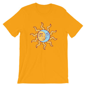 SUN AND MOON Short-Sleeve Unisex T-Shirt