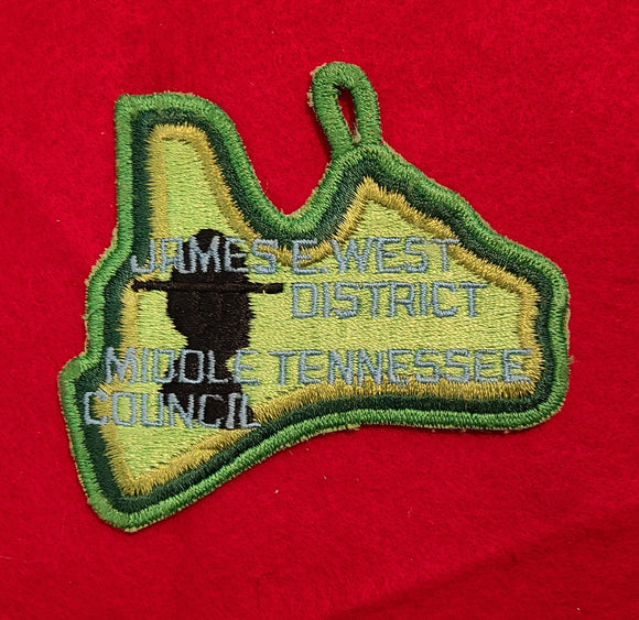 JAMES E. WEST DISTRICT, MIDDLE TENNESSEE COUNCIL