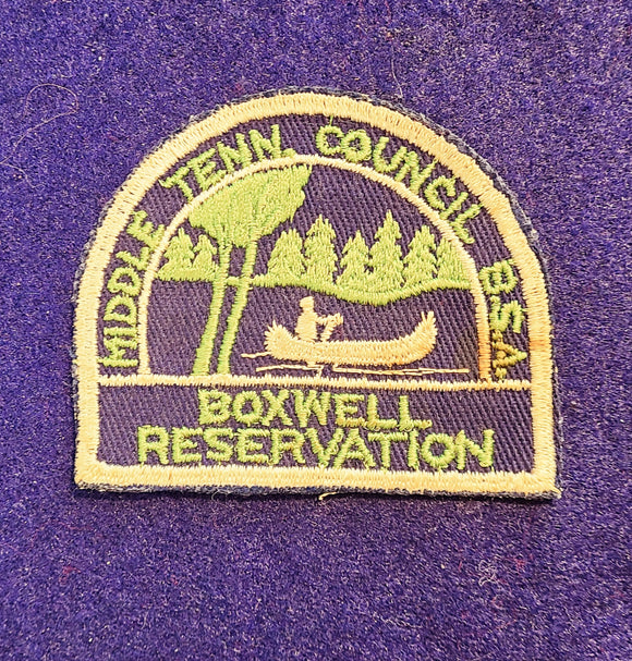 BOXWELL RESV., MIDDLE TENNESSEE C. SLIGHT STAIN, UNWASHED, CRISP CONDITION