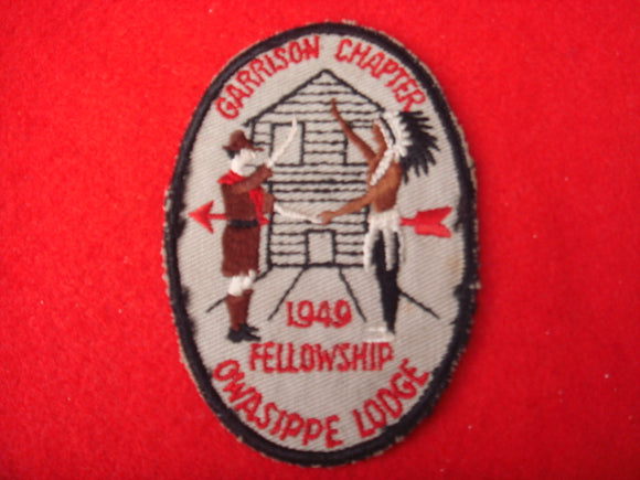 7 eX1949 Owasippe Garrison Chapter Used