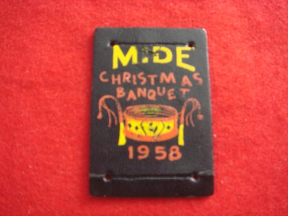 15 Leather Mide Slide 1958 Banquet