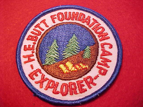 H.E. BUTT FOUNDATION CAMP EXPLORER, 1960'S
