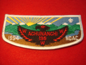 135 S25 Achunanchi 1994 NOAC Merged 1999