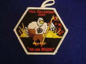 162 eX2007-? Migisi Opawgan 07 Fall Fellowship