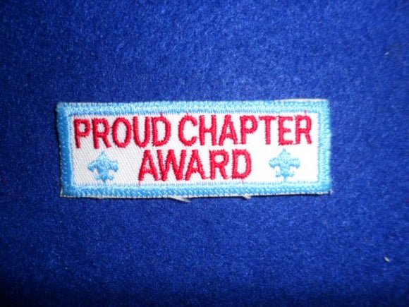 560 X2 Eswau Huppeday Proud Chapter Award