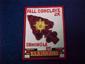 85 eX2000-5 seminole,fall conclave 2k