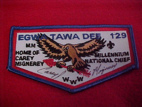 129 F1b egwa tawa dee, home of carey mignerey