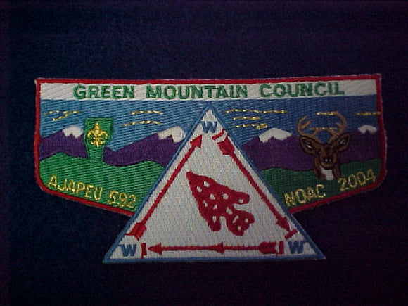 351 S27 ajapeu, green mountain, noac 2004