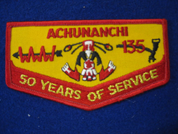 135 F1 Achunanchi , 50 Years , 50th Anniversary