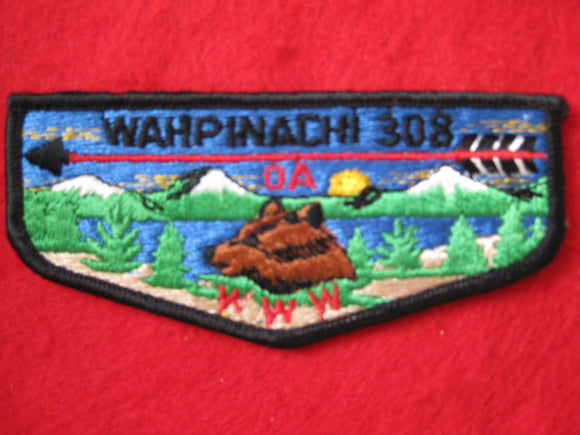308 S1 Wahpinachi , Merged 1973