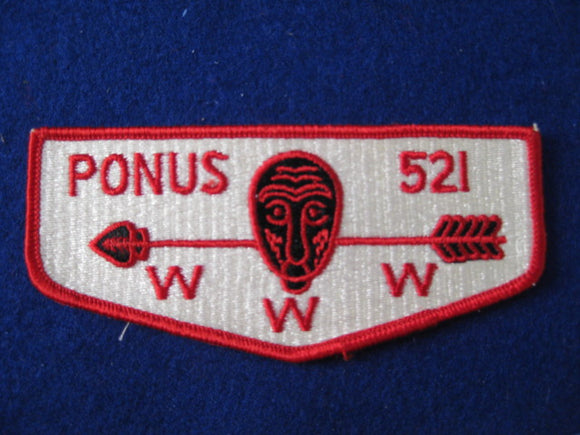 521 S1 Ponus,Merged 1972