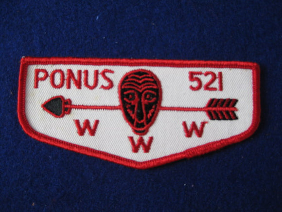 521 F4 Ponus, Merged 1972