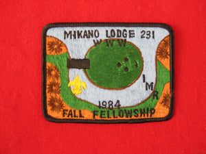 231 eX1984-2 Mikano, Fall Fellowship