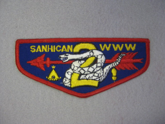 2 F1a sanhican, First Flap