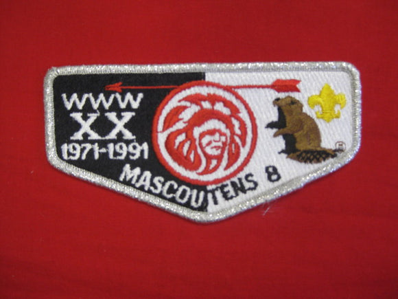 8 S7 Mascoutens,20th Anniversary ,1971 - 1991