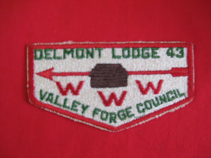 43 S8a Delmont, Merged 1996