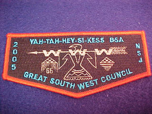 66 S54 Yah-Tah-Hey-Si-Kess, 2005 NJ, Great South West Council