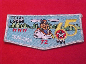 72 S31 Tejas, 65th Anniv., 1934-1999