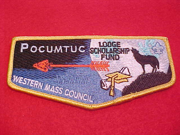 83 Pocumtuc, Lodge Scholarship Fund