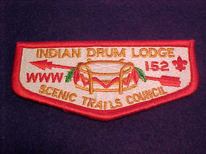 152 S6d Indian Drum, Scenic Trails C.