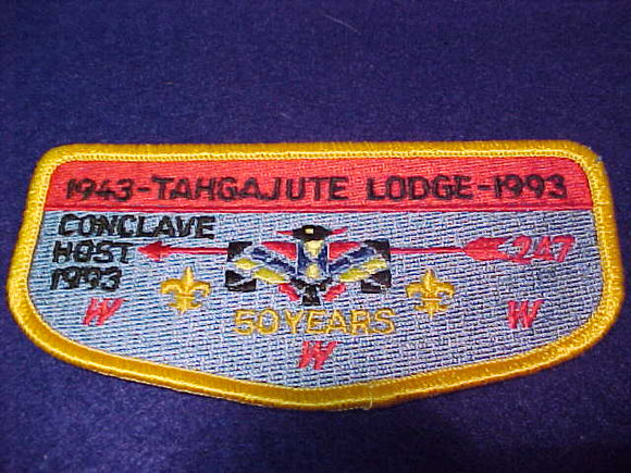 247 S9 Tahgajute, 1993 Conclave Host, 50 years