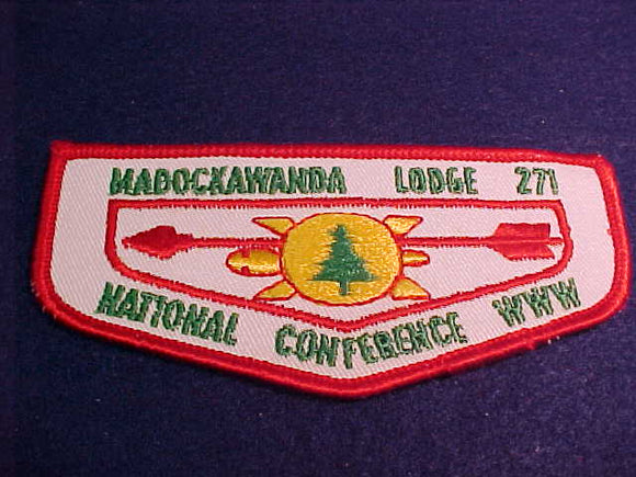 271 F5 Madockawanda, National Conference