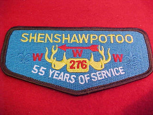 276 S39a Shenshawpotoo, 55 years of service