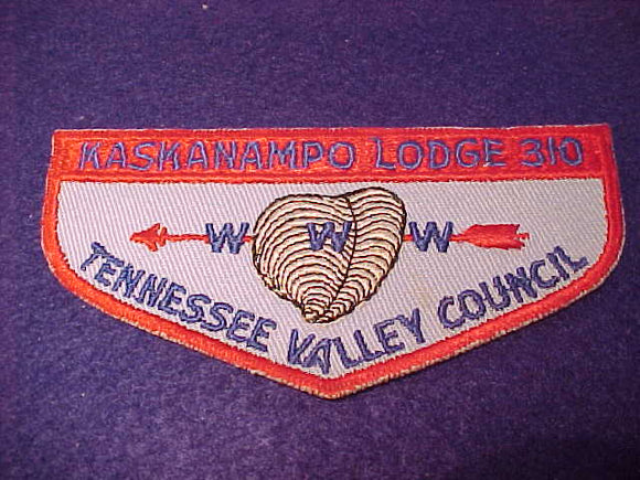 310 F2a Kaskanampo, Tennessee Valley Council