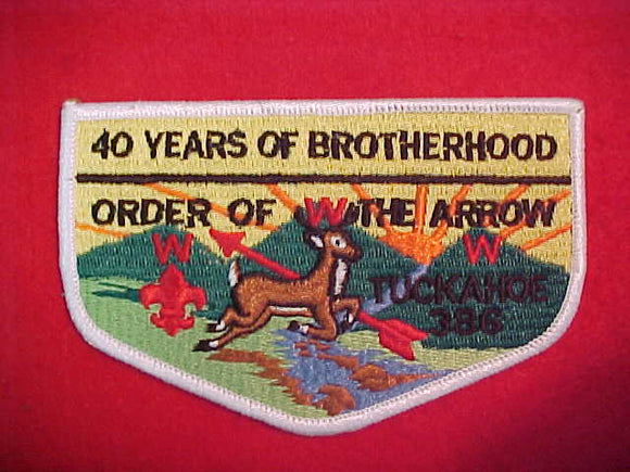 386 S6 Tuckahoe, 40 Years of Brotherhood