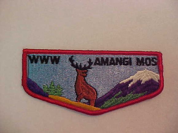 390 S1c Amangi Mos, merged 1974, first flap
