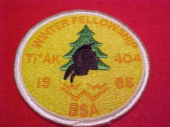 404 eR1985 Ti'Ak, 1985 Winter Fellowship