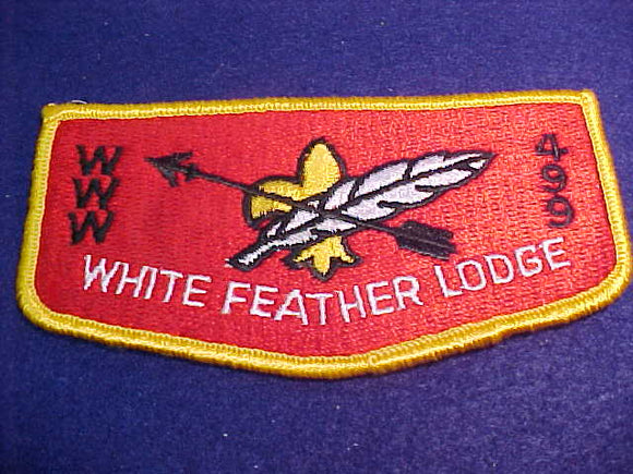 499 S3 White Feather, merged 1996, 62x123mm