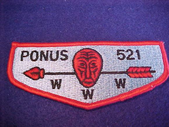 521 S2 Ponus, merged 1972