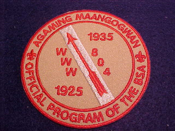 804 R4 Agaming Maangogwan, Official Program of the BSA, 1925-1935