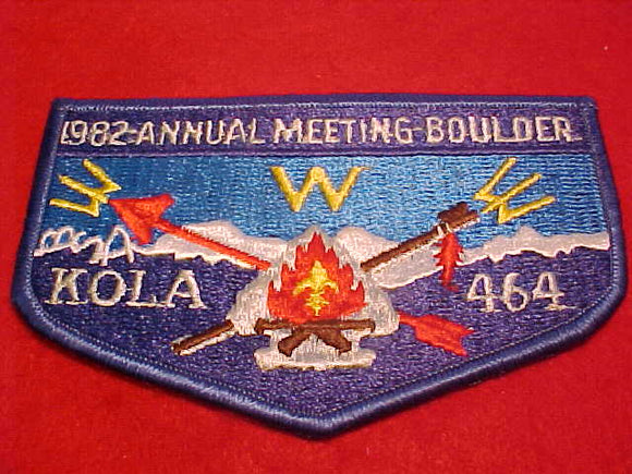 464 eS1982-1 Kola, 1982 Annual Meeting, Boulder